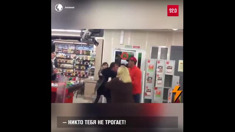 Избиты за воровство в магазине