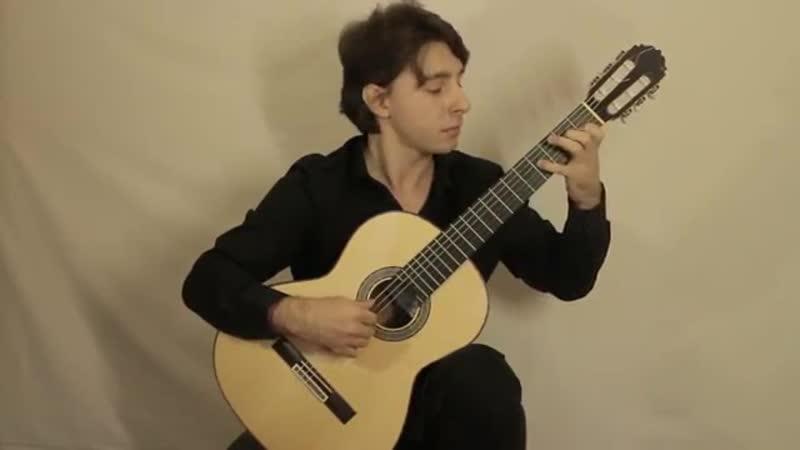 Мануков Александр И С Бах Аллегро из сонаты для скрипки соло №2 М Джулиани Вариации на тему Г Ф Генделя