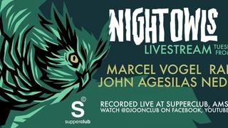 DJOON x Night Owls livestream with Rancido, Marcel Vogel, John Agesilas & Nedda Sou