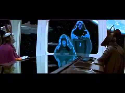 Star Wars Phantom Menace Sidious scenes new HD version on channel