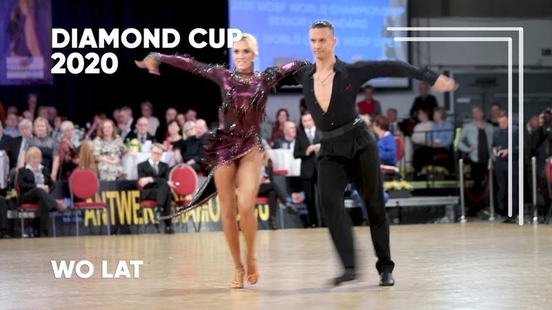 Artur Balandin Anna Salita GER 2020 Diamond Cup WDSF WO LAT solo S