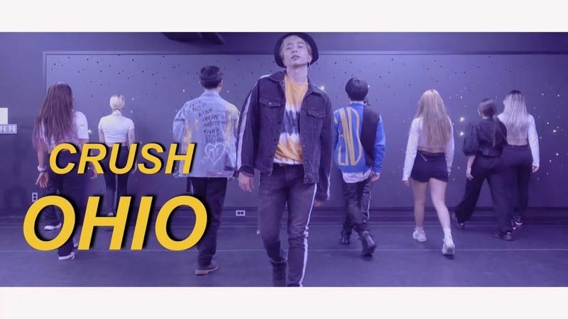 Crush 크러쉬 OHIO DANCE PRACTICE CHOREOGRAPHY L.A.M.F 램프