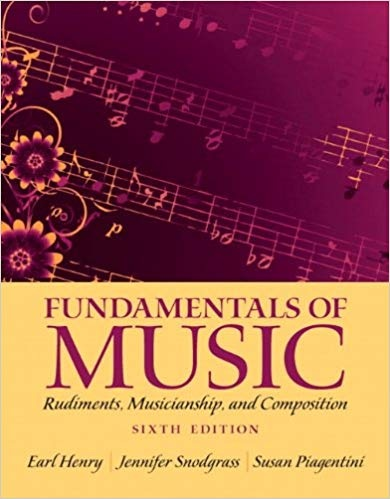 Fundamentals of Music Rudiments, Musicianship, and Composition