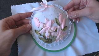 КУРС: секреты вышивки лентами. Урок 1 - Обзор материалов для вышивки лентами.