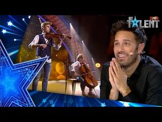 Las increíbles versiones AL VIOLÍN de estos TEMAZOS actuales | Semifinal 01 | Got Talent España 2021