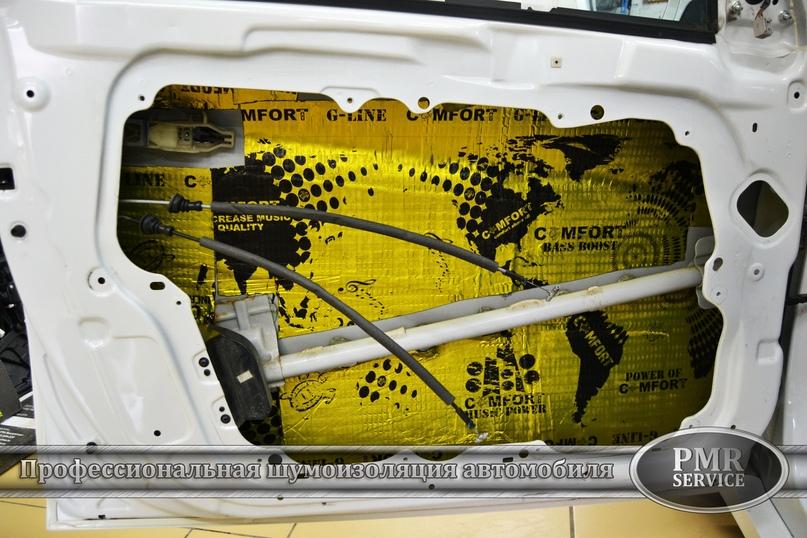 Комплексная шумоизоляция Hyundai Sonata, изображение №11
