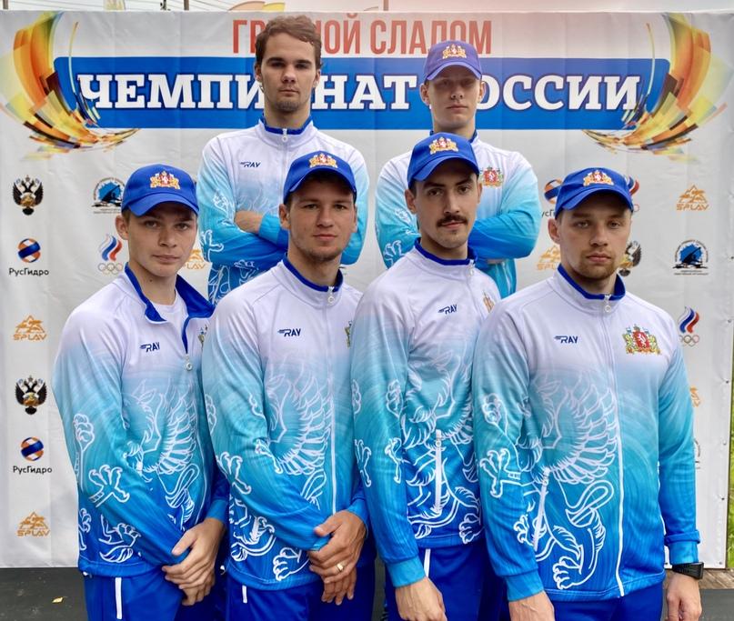 Чемпионы России 2020 в командной гонке каноэ-двоек.