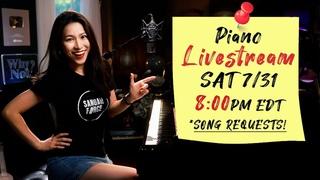 🔴LIVE Piano Music with Sangah Noona! 7/31