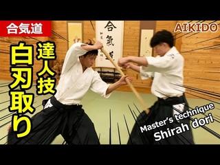 "Aikido Counter technique against sword attack ""Shiraha dori"" - Shirakawa Ryuji shihan"