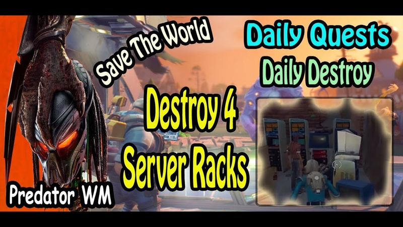 Destroy 4 Server Racks in successful missions ( often found in Bunkers and Shelters )