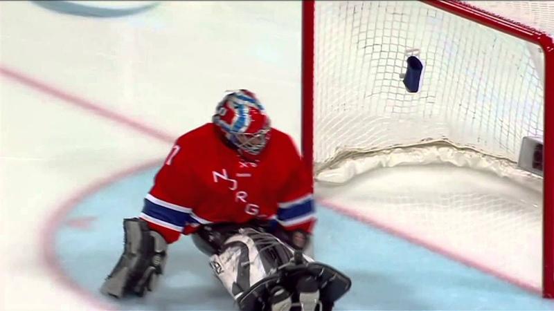 Следж хоккей на льду