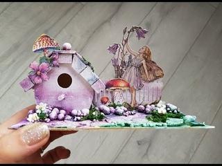 DIY Fairy House Garden Tiny Scenery  Maremi's Small Art
