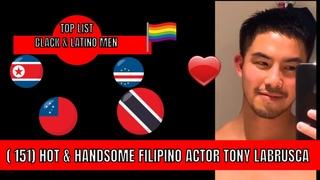 💙💙151) HOT & HANDSOME FILIPINO ACTOR TONY LABRUSCA