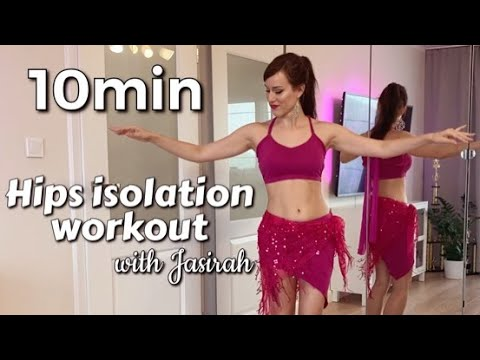 10 MIN HIPS ISOLATION WORKOUT with Jasirah
