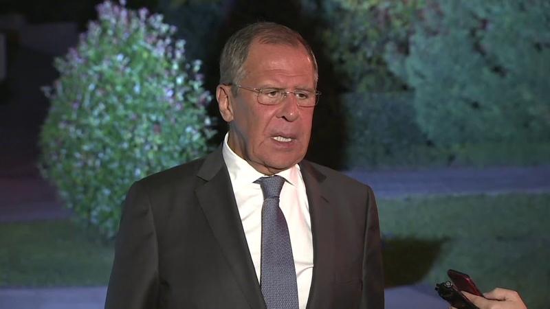 С.Лавров по итогам переговоров В.В.Путина с Б.Нетаньяху, Сочи, 12 сентября 2019 года