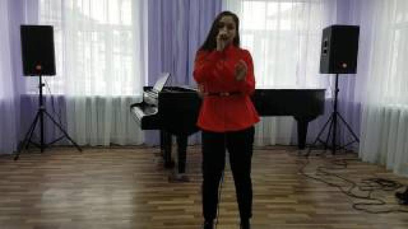 Гваджая Ангелина 13 лет 1 Спытай у неба Гюнешь cover 2 Mama knows best Jessie J cover