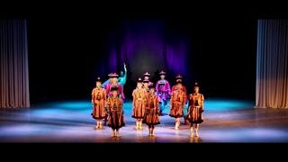 After World Mongolian traditional dance Buriad Буриад бүжиг