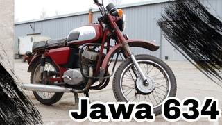 Мотоцикл Ява 634 под реставрацию.