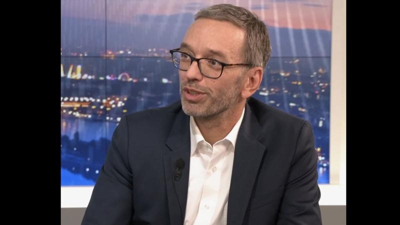 """""""Rot weiß roter Asylstandort muss unattraktiv werden Herbert Kickl bei Krone TV"""