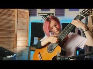 Rainbow Bridge Trip (Playthrough). Original by Marina Krupkina, 10 string guitar