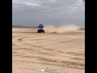 КАМАЗ столкнулся с вертолетом
