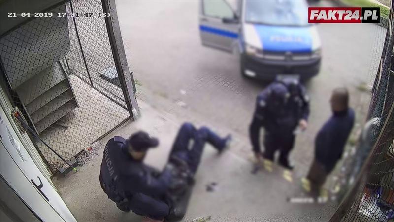 Brutalna Interwencja Policji w Białymstoku Funkcjonariusze nie przyznają się do winy