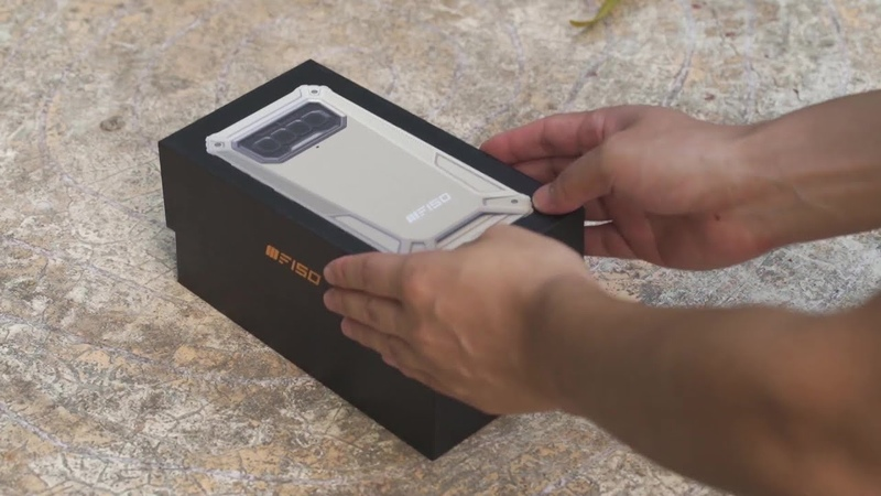 ✅ Навороченный защищенный смартфон за $110 только до 24 января Живое видео F150 B2021