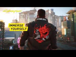 Рекламный ролик Cyberpunk 2077