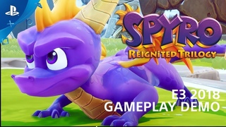 Spyro Reignited Trilogy - PS4 Gameplay Demo | PlayStation Live from E3 2018