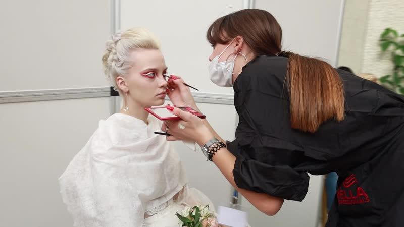XXVI Чемпионат России по парикмахерскому искусству Анжелика Кольцова