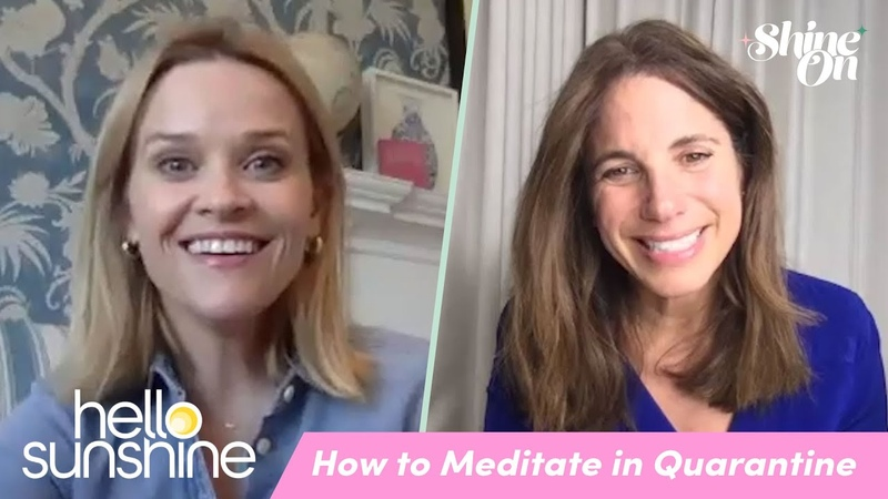 How to meditate in quarantine | Shine On @ Home with Reese Witherspoon ft Suze Schwartz withme