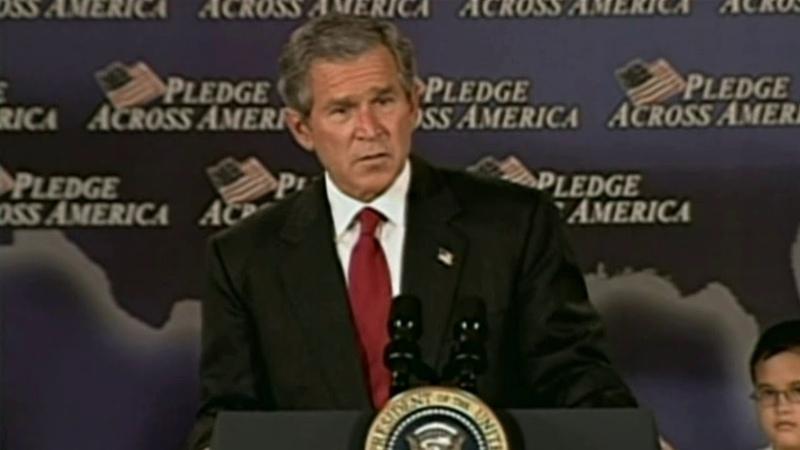 George W Bush Fool me once shame on shame on you