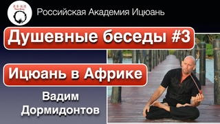 Академия Ицюань. Душевные беседы #3. Вадим Дормидонтов. Ицюань в Африке. Единое в боевых искусствах