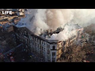 Что известно о страшном пожаре в колледже Одессы