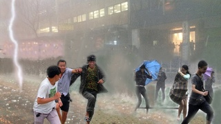 The Chinese horror continues! Typhoon Yingfa paralyzed Shanghai