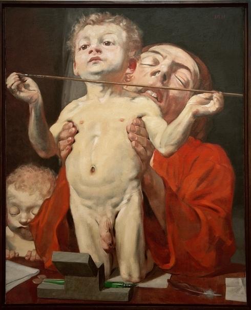 Глубинный самоанализ Johannes Grütze Немецкий живописец, портретист и гравер Johannes Grütze рисует в уникальном стиле. Как портретист, он не идеализирует свои модели, вместо этого он создает