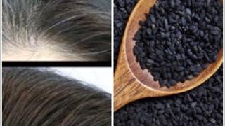 Убрать седину Из седых волос в чёрные 100% результат натуральными продуктами