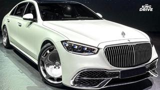 Новый Mercedes-Maybach S-class W223// Хардкорная BMW M5 CS// Обновленный Land Rover Discovery