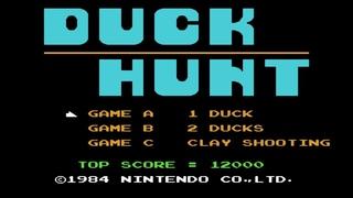 Duck Hunt. 1 Duck Mode. NES [Gameplay (10 Rounds) / Геймплей (10 Раундов)]