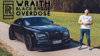 1 of 3 WIDEBODY Rolls Royce Wraith Black Badge with 717hp / #30 The Supercar Diaries
