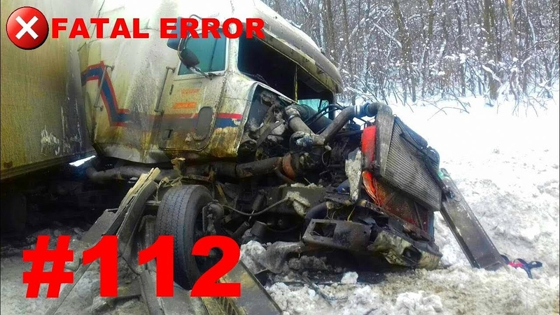 🚘🇷🇺[ONLY NEW] Russian Car Crash Road Accidents Compilation (14 February 2018) 112