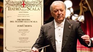 Zubin Mehta dirige l'Orchestra del Teatro alla Scala