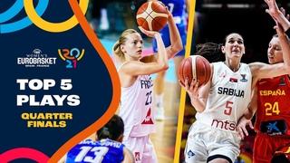 Nike Top 5 Plays   Quarter-Finals   FIBA Women's EuroBasket 2021