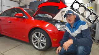 How to set timing and fix the blown head gascket on Chevrolet Cruze (p1)