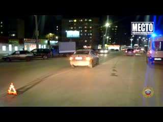 Обзор аварий. Дэу и ГАЗ два пострадавших в Слободском районе. Место происшествия