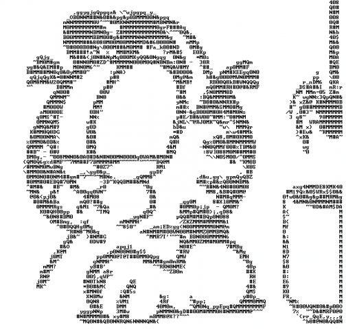 классные картинки из символов маленькие