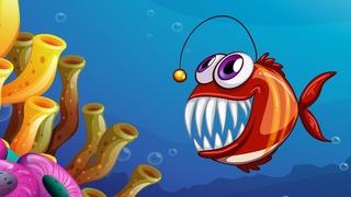 Морские животные. Развивающий мультик для детей