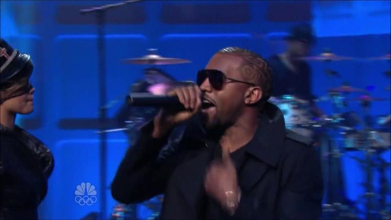 Jay Z Kanye West ft Rihanna Run This Town Tonight Show with Jay Leno
