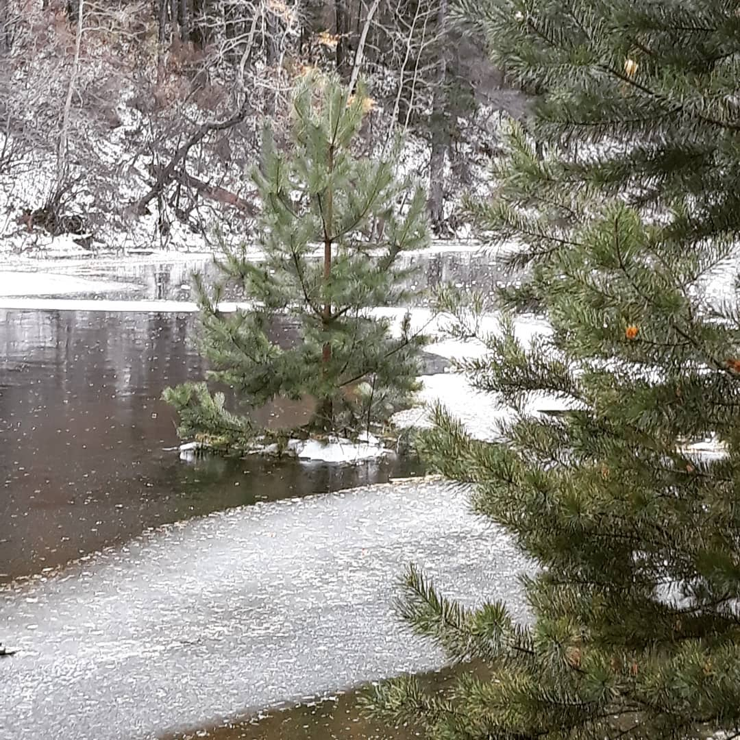 Сухое озеро.
