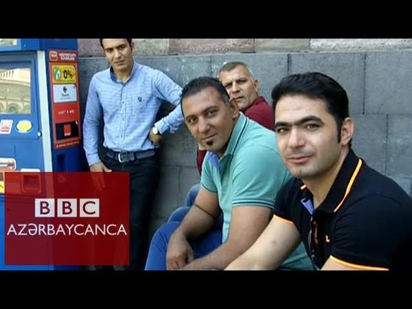 Yerevanda iranlı azərbaycanlılar ermənilər haqqında danışır